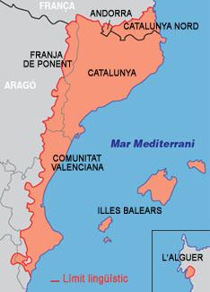 Resultat d'imatges de illes balears mapa en catalunya